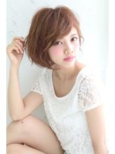 斜めバングひし形シルエット☆彡エアリーショート.3
