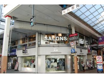 サロンズヘアー 八丁堀店(SALONS HAIR)