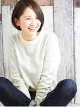 <シンプル可愛い女子>に人気のスタイル♪ショート・ボブなら『Nico』にお任せ!セットのしやすさに驚き☆