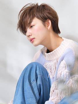《Barretta/蒲田591》☆ハニーショート×斜めバング☆