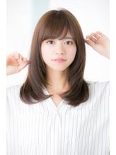 【Euphoria 金沢】大人の艶髪ナチュラルストレート♪ .45