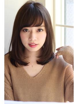 【GARDEN】ワンカールが可愛い小顔ミディアム(田塚裕志)