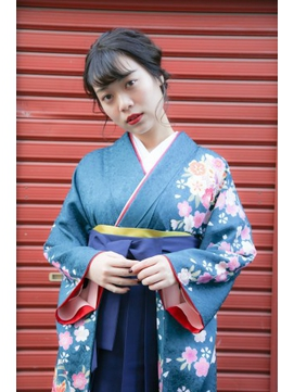 卒業式 トレンド 袴スタイル
