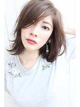 dee 流し前髪×グレージュ .4