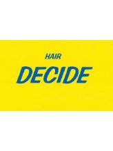 ディサイド(decide)