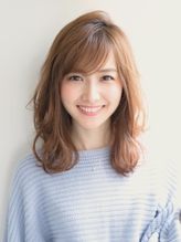 《Barretta/蒲田562》☆大人かわいい×バレイヤージュミディ☆ バレッタ.56