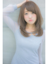 【Euphoria】トップがふんわり小顔レイヤースタイル 担当 及川 前髪パーマ.56