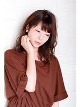 【i+me】☆ふんわりミディアムヘア☆(泉岳寺美容室/i+me泉岳寺).10