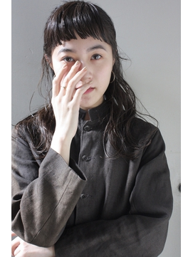 【penelope】 廣重 洋平   モード×パッツン前髪