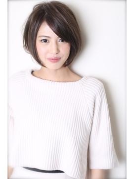 【Lian・畠山 亮介】大人女性におくる・小顔モダンショートボブ