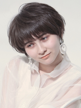 オシャカワマッシュ☆ #前髪#ラベンダーカラー#イメチェン