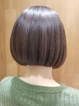 艶感×パッツンボブ【粋lima銀座店】