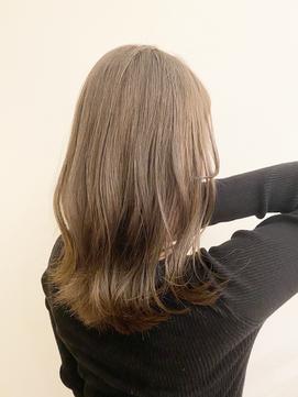 透明感カラー/髪質改善/ウェーブ/艶髪/トリートメント/ヘアケア