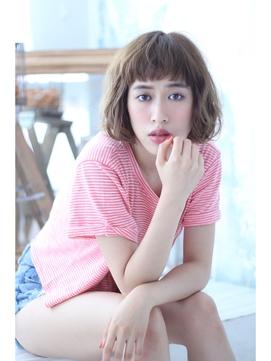 【Blume COSTA]    短め前髪のショートボブ
