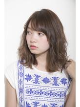 【GARDEN伊藤愛子】フリンジバング×スポンテニアスミディ 朝らくちん.28