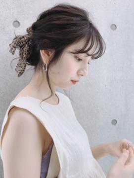 【Zina 梅田】 夏のヘアアレンジ