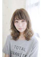 【Lucy高田馬場】 透け感グレージュミディアム.29