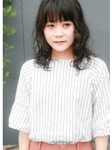 黒髪 × ウェーブ .59