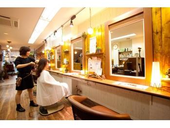 カラフル ヘアー(Colorful hair)(京都府京都市左京区/美容室)