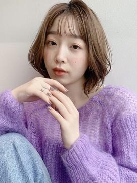 [K-two青山]シースルー前髪/ボブ/ボブルフ[表参道/南青山]