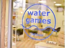 主婦やOLさんからの支持も厚いwatergames!お子様連れも大歓迎!