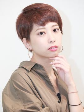 前髪ラベンダーカラーくびれイメチェンイヤリングカラー#所沢138