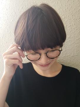 【新宿PENELOPE】マッシュショート×イルミナカラー!
