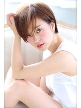 NORA【ERI】小顔カット流し前髪色っぽい似合わせカットショート 時短.25