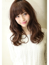 [エフォートレス]  オトナ女子は斜めバング小顔ハニーヘア! 好感度.23