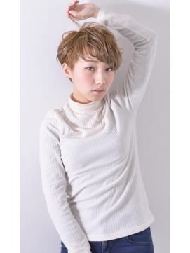 [buzz-Hair make] ショート(ミルクティーベージュ)