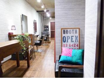 ブース(booth)(東京都大田区/美容室)