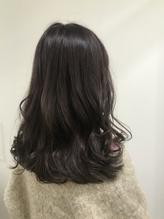 暗髪ミディ×パープルブラウン.19