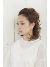 【collina代官山】kasahara ハーフアップパーティーセット ポンパドール.31