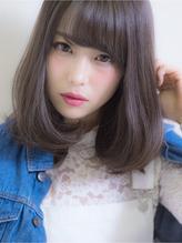 ゆるふわフェミニンな春ボブ by 中内田沙織 落ち着き.5