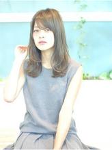 【K-two】流し前髪で面長カバー☆ナチュかわセミディ 前髪パーマ.33