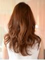 【aina hair/代々木公園代々木八幡】透明感のあるロングウエーブ