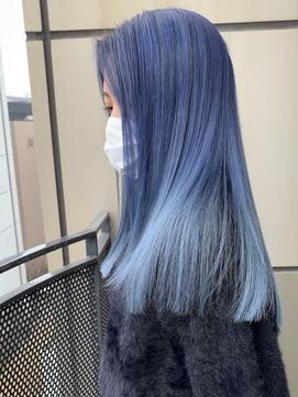 ブルーカラー/ホワイトブルー/アイスブルー/トリプルカラー水色