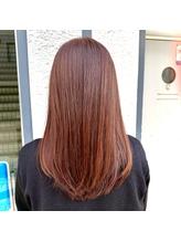【HAIR LATTE】レッドブラウン×イルミナ×艶髪.10
