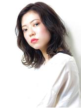 【MODEK's厚木】イルミナカラー風暗髪透明感×デジタルパーマ.20