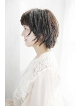小顔グラデーションカラーバターブランジュ美髪ダブルバング/163