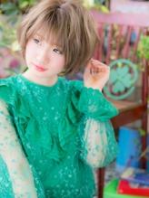 *bliss戸田公園*ハイトーン☆くせ毛風ゆるウェーブ小顔ショートa.22