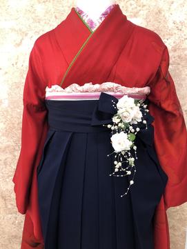 実力派アレンジ上手卒業式☆袴+UP¥9000(税込¥9900)~早朝別途