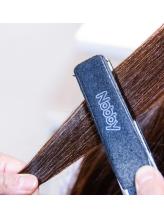 """髪に優しい薬剤で傷ませずに""""潤う""""ストレートで、サラサラの髪に☆朝のスタイリングも楽チン★"""