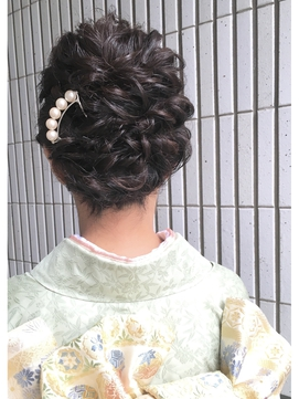 【AnFye for prco】着付け&ヘアセット