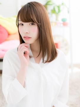 【macaron】透明感☆大人可愛いうる艶ストレート