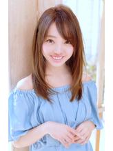 《Barretta/蒲田363》☆ワンサイドストレート×ミルクティー☆ バレッタ.31