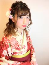 卒業式 袴 成人式 振袖 ルーズ ヘアアレンジ.9