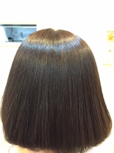 髪に優しいオーガニックカラーでツヤのある綺麗な発色が続く♪お肌や頭皮が敏感な方にもオススメ◎