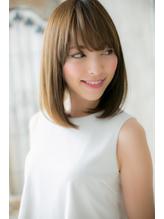 ワイドバング ナチュラルストレートa まとめ髪.57