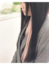 【RHYTHM】 シールエクステ80枚 PINKイヤリングカラー風.49